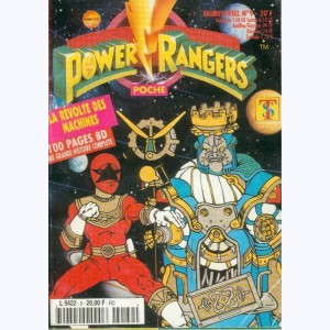 Power Rangers Poche : n° 9, La révolte des machines