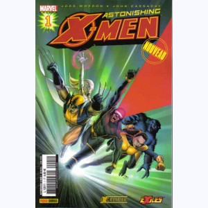 X-Men Astonishing : n° 1, Surdoués