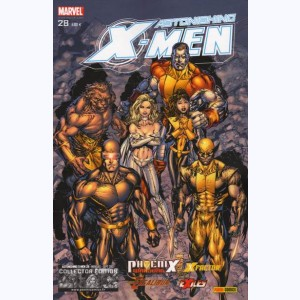 X-Men Astonishing : n° 28, Chant de guerre