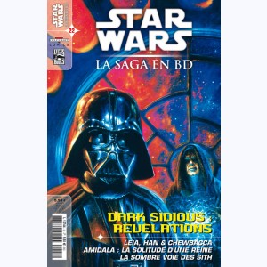Star Wars - La Saga en BD : n° 22, Dark Sidious : Révélations
