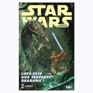 Star Wars - Comics magazine : n° 10A, Luke face aux serpents dragons