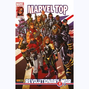 Marvel Top (2ème Série) : n° 14, Revolutionary war (1/2)