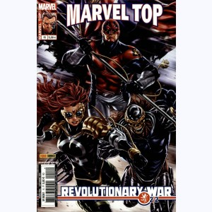 Marvel Top (2ème Série) : n° 15, Revolutionary war (2/2)