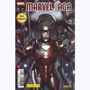 Marvel Saga : n° 3, Iron man - de mains de fer