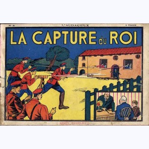 Collection L'Audacieux : n° 31, La capture du roi (Gordon)