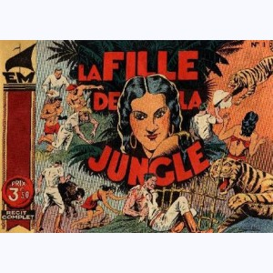 Collection EM : n° 1, La fille de la jungle