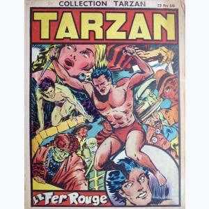 Collection Tarzan : n° 21, Le fer rouge