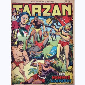 Collection Tarzan : n° 50, Les hommes léopards