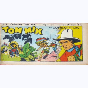 Collection Tom Mix : n° 4, Le combat du lac