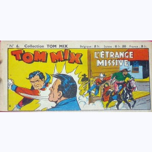 Collection Tom Mix : n° 6, L'étrange missive