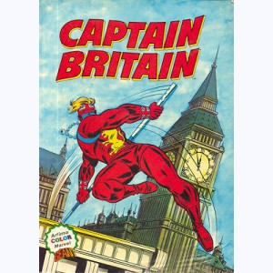 ARTIMA Color Géant, Captain Britain