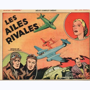 Collection L'Intrépide, Les ailes rivales