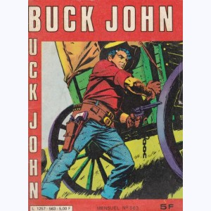 "Buck John : n° 563, James Bart ""le dur"""
