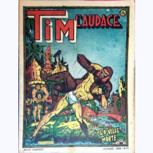 Collection Tim l'Audace : n° 14, La ville morte