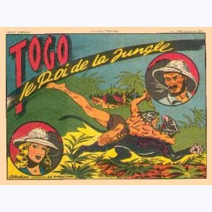 Collection Texas : n° 1, Togo le roi de la jungle