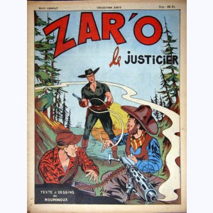 Collection Zar'o : n° 4, Zar'o le justicier