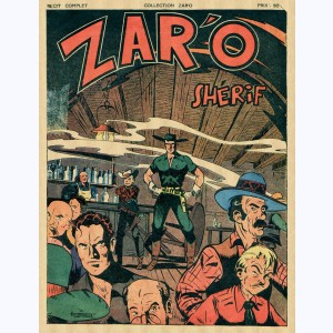 Collection Zar'o : n° 10, Zar'o shériff