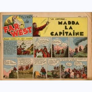 Les Contes du Far-West : n° 70, La Capitaine - Madda la capitaine