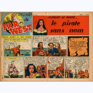Les Contes du Far-West : n° 83, Morgan - Le pirate sans nom