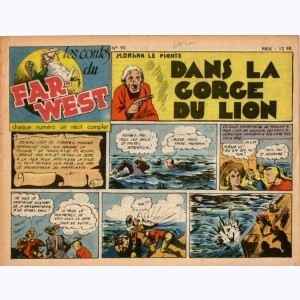 Les Contes du Far-West : n° 90, Morgan - Dans la gorge du lion