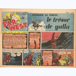 Les Contes du Far-West : n° 92, Morgan - Le trésor de Yalla