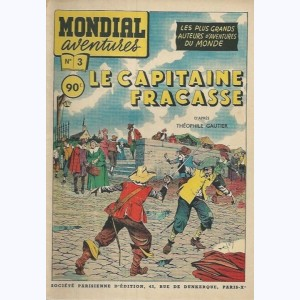 Mondial Aventures : n° 3, Le Capitaine Fracasse