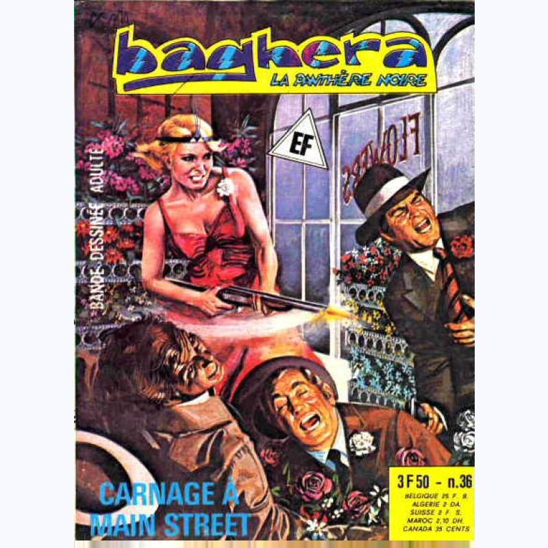 Baghera La Panthère Noire N 36 Carnage à Main Street