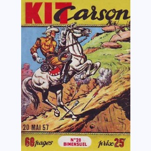 Kit Carson : n° 28, La légende de la vallée du grizzly