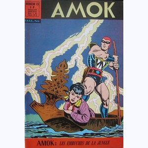 Amok : n° 23, Les embûches de la jungle
