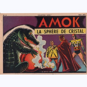 Collection Amok : n° 14, La sphère de cristal