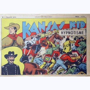 Collection Wild West (2 ème Série) : n° 3, Kansas Kid : Hypnotisme