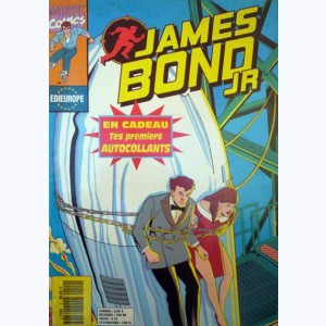 James Bond Jr : n° 2, Le missile de la Tour Eiffel